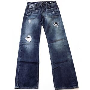 Guess Desmond Relaxed fit jeans distressed size 32